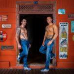 Mathéo et Tyler Chippendales