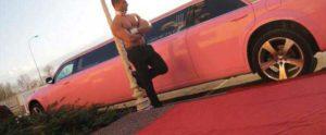 Striptease limousine